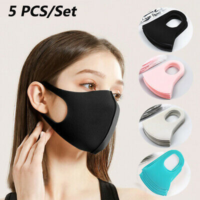 Pack of 5 Face Cover Two Size For Adult & Child Two Size Face Cover Mouth Muffle