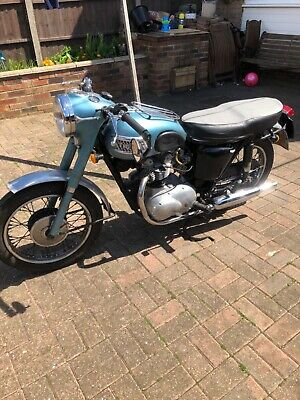 Triumph 3ta classic bike. With transferable number