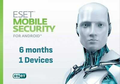 ESET Nod32 Mobile Security for Android -1 user, 6 months (License Key)