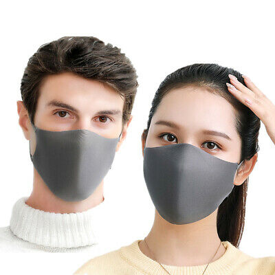 3Pcs Couple Sponge Safe Adjustable Breathable Mouth Cover Face Cover Muffle
