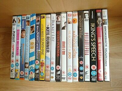 DVDS - Fell good/moving - £1 per DVD