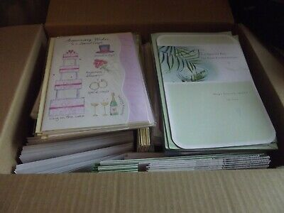 260+ Clearance  Wholesale Mixed....Birthday/Anniversary/Etc Greetings Cards..B8