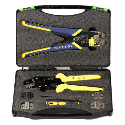 Paron JX-D5301  5 in 1 Multifunctional Ratchet Crimping Tool Wire Strippers Kit