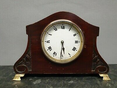 Vintage Small Edwardian Mantle Clock