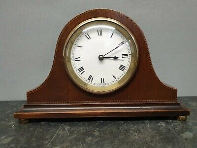Vintage Small Napoleon Hat 8 day Mantle Clock, Spares or Repair
