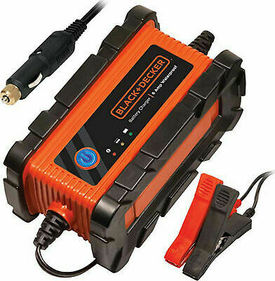 Black & Decker BC6BDW Waterproof Battery Charger/Maintainer 6 Amps