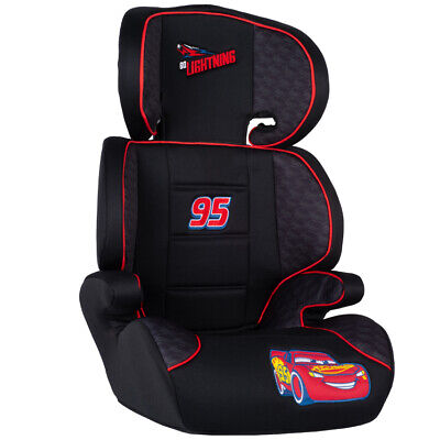 Disney CARS Child Boys 2in1 Car Booster Seat Forward Facing Group 2/3 15-36kg