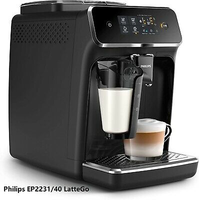Philips EP2231/40 LatteGo Automatic Coffee Machine Integrated Milk Carafe