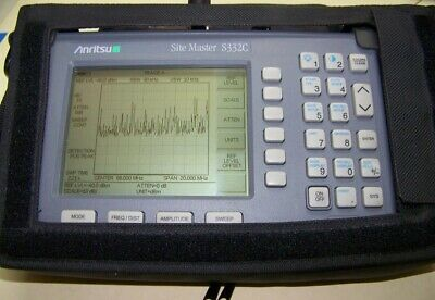 Nice Anritsu S332C OPT5 power meter Site Master new smart Battery. fully tested!