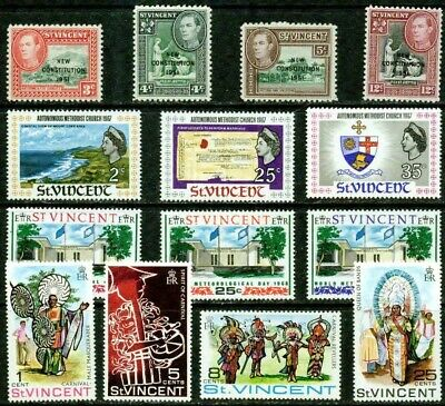 St.vincent– 1951-1978 – Lovely Collection – Vf**