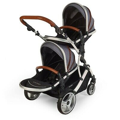 Duellette BS Double twin Pushchair pram travel system Tandem