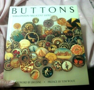 Vintage Collector Guide Collecting Buttons By Diana Epstein -Millicent Safro