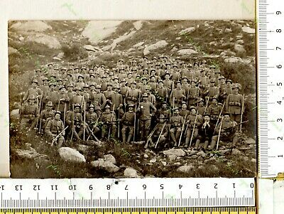 Bb 319) Ww1 Compagnia Di Alpini