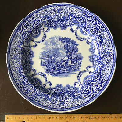 Spode England Blue Room Collection Continental Views introduced c.1844 Teller 22