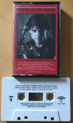 Eddie And The Cruisers Original Soundtrack Cassette Tape Ost Us Import