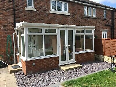 Used upvc lean to conservatory No.16V