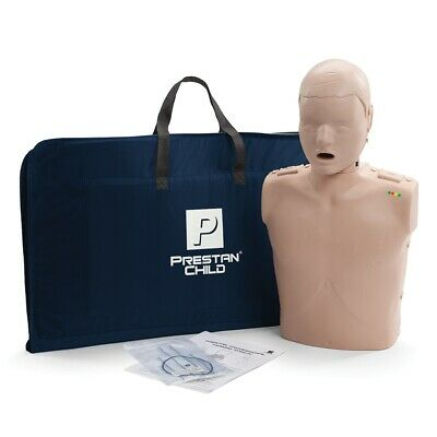 Prestan Professional Training Manikin Child with CPR Monitor inc. 10 Lung Bags