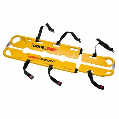 Code Red (Reli-quip) Yellow Two Piece Scoop Stretcher With Straps
