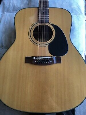 Vintage Conn Acoustic 12 String Guitar Project Guitar F-1512
