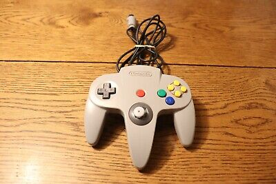 N64 Nintendo 64 Gray Controller Loose Joy Stick Tested Working AS IS