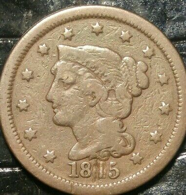 1815 Large Cent Modified