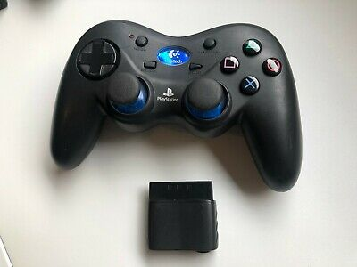 Logitech Cordless Action Wireless Gamepad Ps2 Playstation 2 Controller