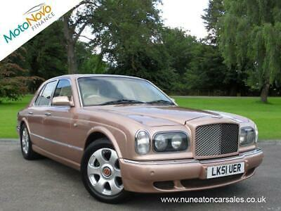 BENTLEY ARNAGE V8 Auto Red Label Brown Auto Petrol, 2001