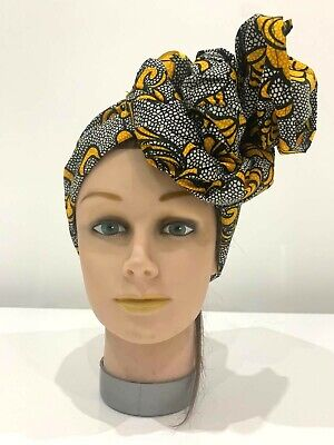 African Face mask with matching scarf - Protective Face Mask