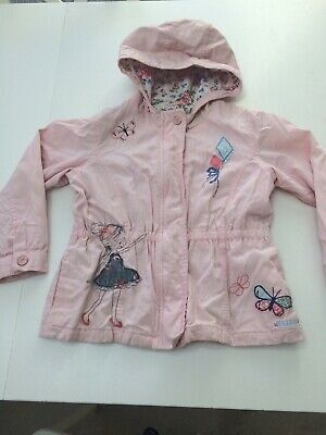 Girls Pink Lightweight Jacket NEXT 5-6 Years