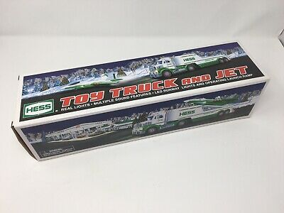 Hess Toy Truck and Jet