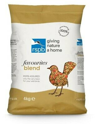 RSPB Favourites Blend Wild Bird Food 4kg