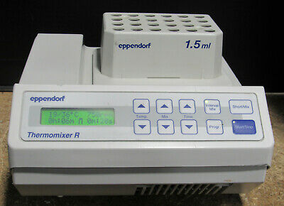 Eppendorf Thermomixer R Mixer Shaker Incubator w/ Block Tested and Working