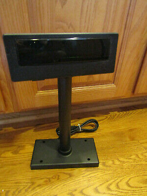 POS CUSTOMER DISPLAY VFD - WITH POLE BASE STAND for QUICK BOOKS SYSTEM