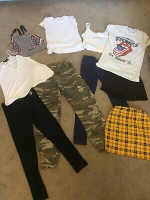 Girls summer clothes bundle age 11-12 years, New Look, Primark, TU, River Island