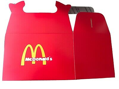 Mcdonalds Inspired Happy Meal Box