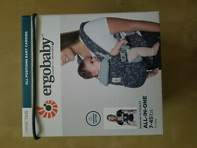 Ergo baby carrier omni 360 all carry positions - Trunks Up - grey
