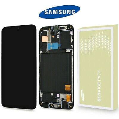 Original Samsung Galaxy A40  A405F LCD Display Touchscreen Bildschirm Schwarz