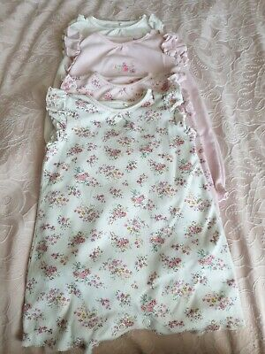 4 Girls Next summer romper suits 3-6 months outfit