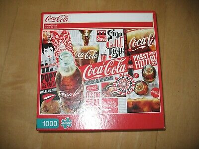 Buffalo Games 1000 Pc Puzzle -The Real Thing -Coca Cola