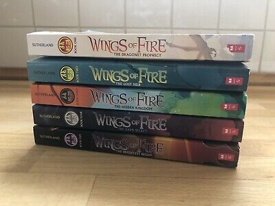 Wings of Fire: Wings of Fire...BOOKS #1 - 5