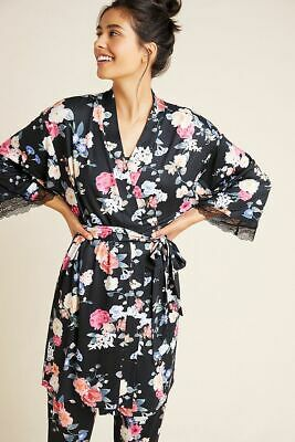 New Anthropologie Flora Nikrooz Violetta Robe size Small