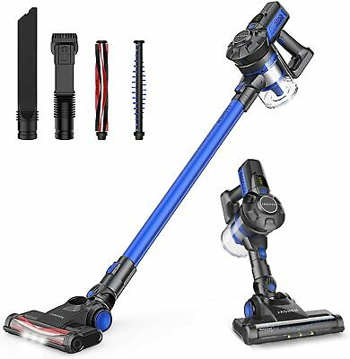 Powerful Cordless Vacuum Cleaner Lightweight Stick Hoover Rechargeable Battery