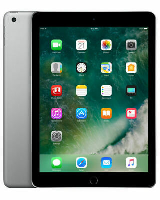Apple iPad 5th Gen. 128GB, Wi-Fi, 9.7in - Space Gray Excellent condition