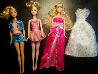Barbie Doll LOT Birthday Wishes and I can Teach Barbies Mattel EUC