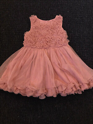 Next Baby Girls 1.5-2yr Olds (18-24 Months) Party Occasion Dress Fully Lined