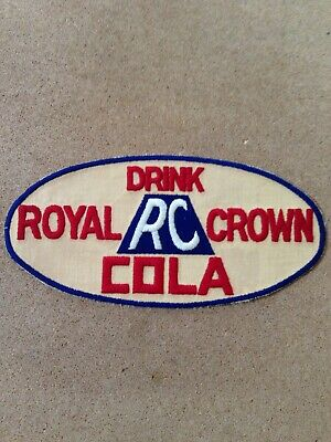 1950'S Drink Rc Royal Crown Cola Large Jacket Patch
