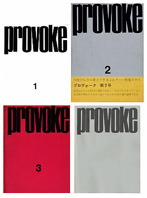 PROVOKE: Complete Reprint of 3 Volumes [Volumes 2 & 3 SIGNED by Daido Moriyama]