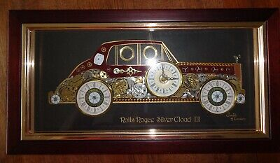 David Of London Original Horological Montage Rolls Royce Silver Cloud Iii