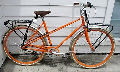 PUBLIC BIKES M8 - MIXTE URBAN COMMUTER BICYCLE with NEXUS 8 SPEED and EXTRAS