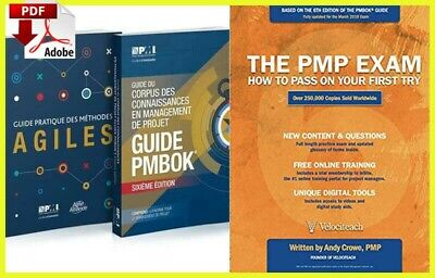 PMBOK PMI Guide 6th Edition 2018 And Agile Practice Guide  (E-Edition📥)